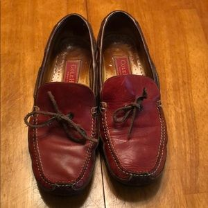 Vintage Red Cole Haan loafers